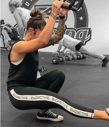 fitness haciendo ejercicio