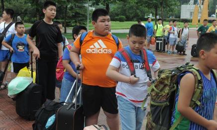 niños con sobrepeso en china